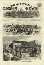 1868 Experiments Shoeburyness Plymouth Breakwater Target Splinter Proof