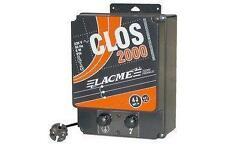 Electrificateur clos 2000 de chez Lacmé,  4 joules