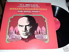 YUL BRYNNER & TOWERS-THE KING AND I-LP-VG++