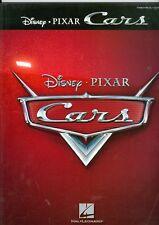 CARS sheet music song book Disney Pixar animated movie film