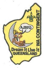 AJ2013 - AUSTRALIA SCOUT JAMBOREE - WESTERN AUSTRALIA WA SCOUTS CONTINGENT BADGE