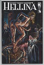 Hellina #1 Kickstarter Sacrilege Nude Risque Variant Cover Boundless Comics