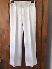 Pantalon écru - Ceinture brodée - PROMOD  - taille 36