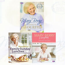 Mary Berry Collection 3 Books Set Mary Berrys Everyday Family & Sunday Lunches
