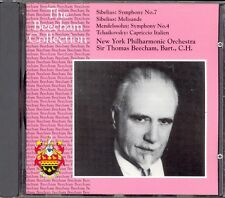 SIBELIUS - Symphony 7 / Melisande / MENDELSSOHN - Symphony 4 - Thomas BEECHAM