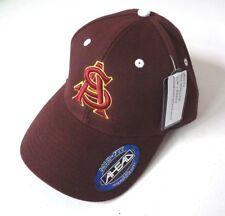 NWT Arizona State University Sun Devil Mid Fit Adjustable Authentic Ahead Hat
