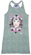 Robes gris pour fille de 2 à 16 ans en 100% coton