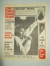 NME #1264 APRIL 17 1971 T. REX JACKSON 5 STEVIE WONDER NEIL DIAMOND MOZART