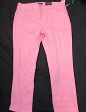 NYDJ Not Your Daughters Jeans 16P pink cherry blossom ankle denim jeans NEW