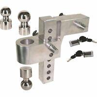Uriah Products Aluma-Tow Adjustable Aluminum Ball Mount