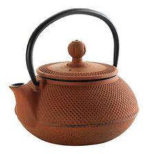 Lacor 68666 - Teiera in ghisa, colore: Marrone (Bamboo), 0,6 litri (B8X)