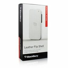 Custodia / Cover con Flip Verticale Bianca per BlackBerry Q5 ORIGINALE Nuova