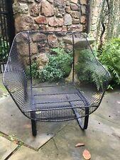Large Vintage Woodard Sculptura Lounge Chair Eames Knoll Bouncer Mid Century