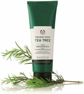 The Body Shop Tea Tree 3-in-1 Wash - Scrub - Mask 125 ml