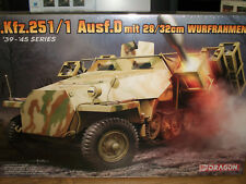Dragon 1/35 Scale Sd.Kfz.251/1 Ausf.D mit 28/32cm Wurfrahmen 40 - Factory Sealed