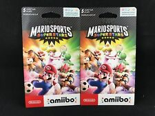 Mario Sports Superstars Amiibo Card 2-Pack (5 Cards per Pack) BRAND NEW / SEALED