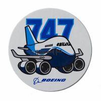 Boeing 747 Pudgy Aufkleber Boeing Sticker