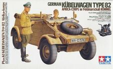 Tamiya 36202 - 1/16 WWII Dt. Bucket Car Type 82 Africa Korps with Rommel - New
