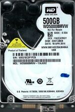 Western Digital WD5000BMVW-11AJGS2 DCM: EHCTJBKB USB 3.0 500GB