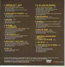 rare 80's DVD PROMO ONLY Raul DiBlasio & Juan Gabriel QUERIDA Hasta q te conoci