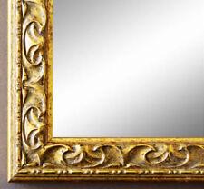 Espejos decorativos de pared dorado de madera para el hogar