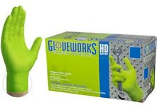 box Gloveworks Green Nitrile Gloves (100) Size XL