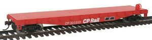 Walthers - Flatcar - Ready to Run -- Canadian Pacific - HO