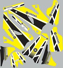 Graphics for 2006-2009 Yamaha YZ250f 450f YZ 250f Decals Shrouds Rear fender