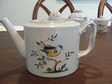 "SPODE QUEEN BIRD OLDER TEA POT 4 CUPS 4 5/8"""