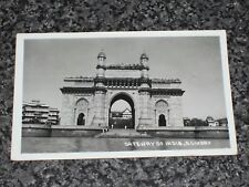 GATEWAY OF INDIA  BOMBAY    POSTCARD  POSTED 1955  VINTAGE  VGC