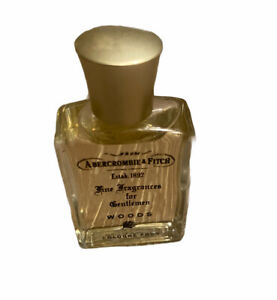 ABERCROMBIE & FITCH WOODS .5 Cologne Men 0.5 oz Travel Size Discontinued