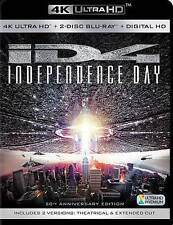 Independence Day Blu-ray From 4K UHD 20th Anniversary No Digital Copy Or 4K Disc