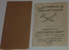 RARITÄT:Segelflugmodell Lo 28 'Freundschaft',1950 Ernst Wiedenroth Mühlhausen