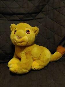 "Disney Lion King Baby Simba Cub Stuffed Plush 8"""