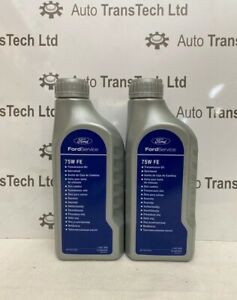 genuine ford focus 6 speed dual dry clutch gearbox oil 75W FE 6DTC250 DPS6 2L