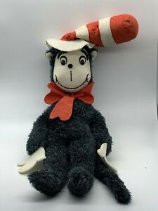 "Vintage Dr. Suess Cat in the Hat Douglas Cuddle Toys  22"" Plush Toy 1970s"