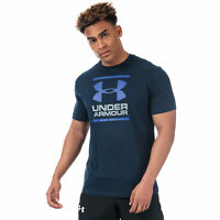 Mens Under Armour Gl Foundation Ss T-Shirt In Navy