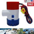 1100GPH 12V Electric Marine Submersible Bilge Sump Water Pump For Boat Yacht RV photo