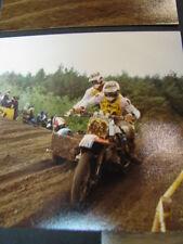 Photo CRM Yamaha 1983 #34 Franz (SUI) / Wutrich (SUI) GP Zijspan Lochem