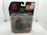 Darth Maul with Sith Infiltrator STAR WARS 1999 Hasbro Action Figure Episode
