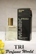 MUSK Monsieur by Dana After Shave Splash 2.0 fl.oz. Dab-on