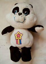 Care Bear Cousins Polite Panda 2004 Black & White W/ Shooting Star on Belly Rare