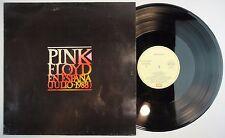 PINK FLOYD: EN ESPAÑA (JULIO 1988 ) – LP Spain *PROMO* REC. EX+ PROG ROCK RARE