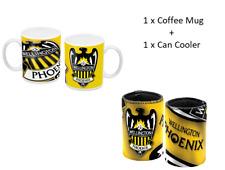 A League Wellington Phoenix 110z Coffee Mug + Wellington Phoenix Can Cooler