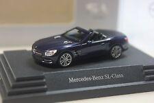 Herpa Mercedes SL (R231), dunkelblau metallic - dealer PC - 0102 - 1:87