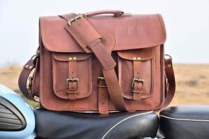 Hot Men's Handbags Casual Leather Bag Vertical Briefcase Shoulder Messenger Bags