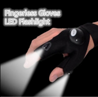Newly LED Light Finger Lighting Gloves Auto Repair Outdoors Flashing Artifact