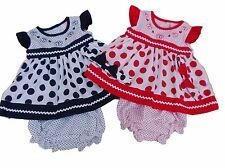 Vestiti e abbigliamento rosso in poliestere per bambina da 0 a 24 mesi