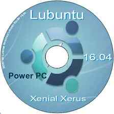Lubuntu 16.04 Xenial Xerus Mac Power PC IBM-PPC Linux O/S LXDE desktop DVD LTS