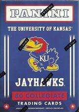 2016 Panini Univ. of Kansas KU Jayhawks Multi-Sport Trading Cards Blaster Box